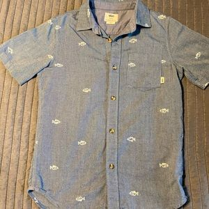Vans Boys Botton Down Shirt